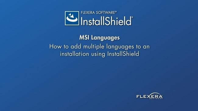 Phần mềm InstallShield 2018 Premier Edition