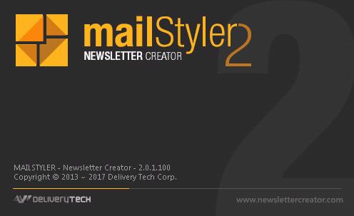 Phần mềm MailStyler Newsletter Creator