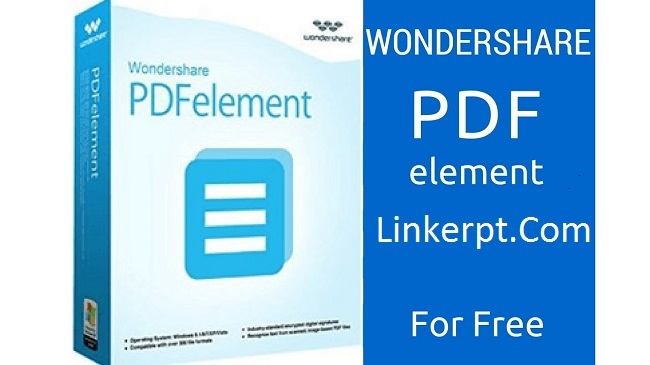 Phần mềm Wondershare PDFelement