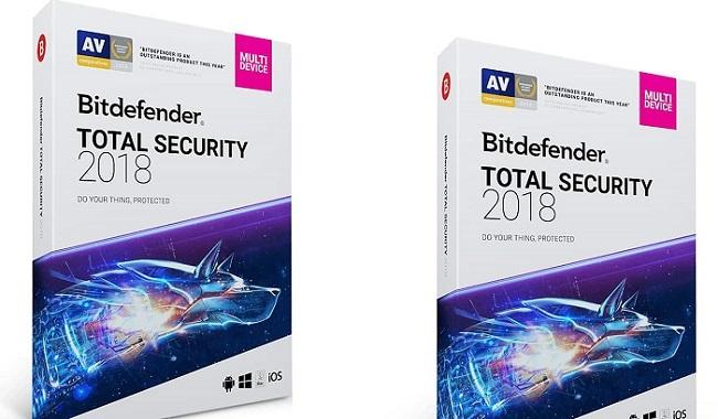 Phần mềm Diệt virus Bitdefender Total Security