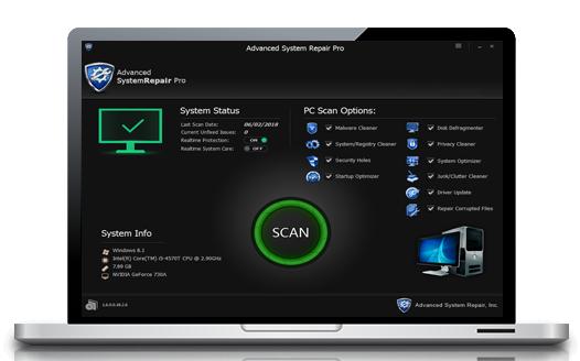 Phần mềm Advanced System Repair Pro