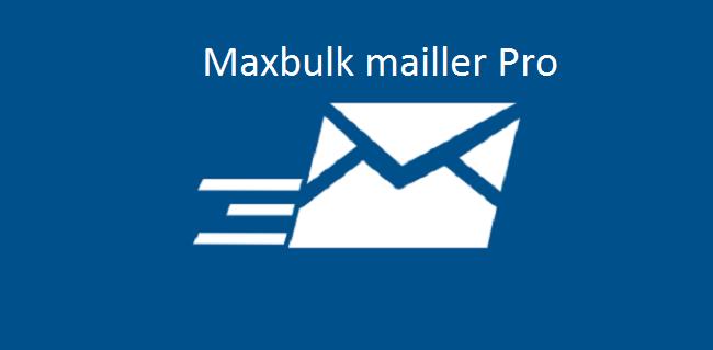 Phần mềm Gửi email MaxBulk Mailler Pro