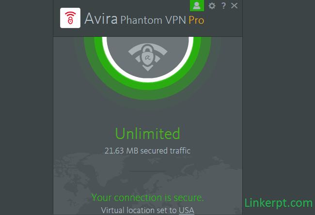 Phần mềm Avira Phantom VPN Pro