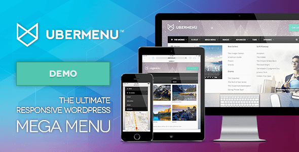 Plugin UberMenu - The Ulitimate WordPress Mega Menu