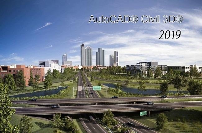 Phần mềm Autodesk AutoCAD Civil 3D 2019
