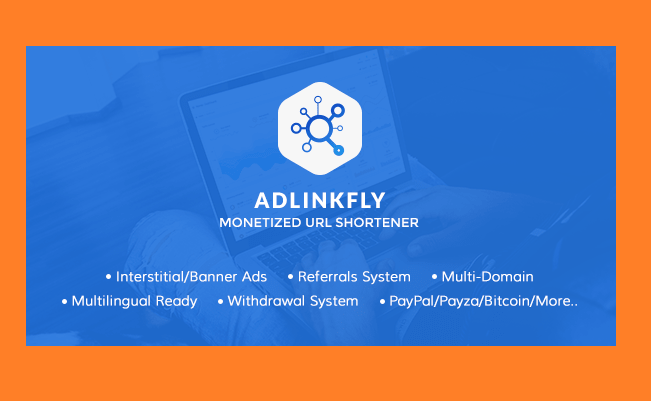 Code AdLinkFly - Rút gọn url kiếm tiền giống 123Link