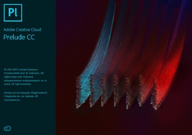 Phần mềm Adobe Prelude CC 2018