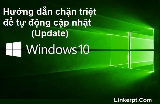 Hướng dẫn chặn triệt để tự động cập nhật trên Windows 10