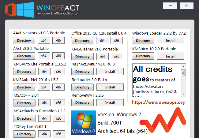 Winoffact aio active win