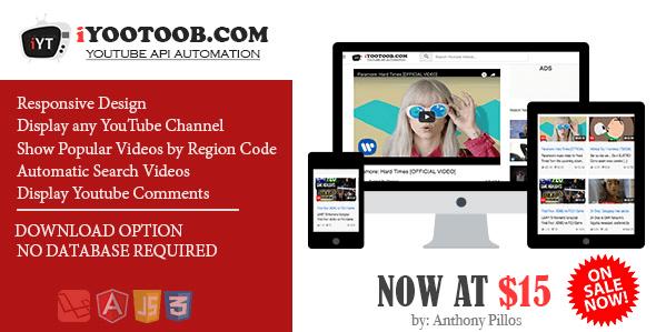 iYOOTOOB - Code Youtube API Automation System