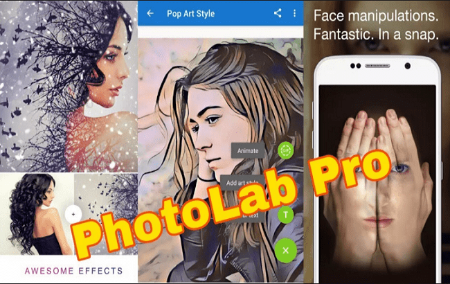Phần mềm Photo Lab PRO Picture Editor android
