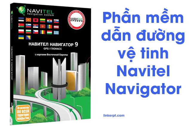 Phần mềm dẫn đường vệ tinh Navitel Navigator