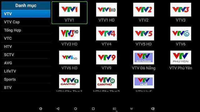 Hướng dẫn sử dụng các phần mềm để xem tivi trên android