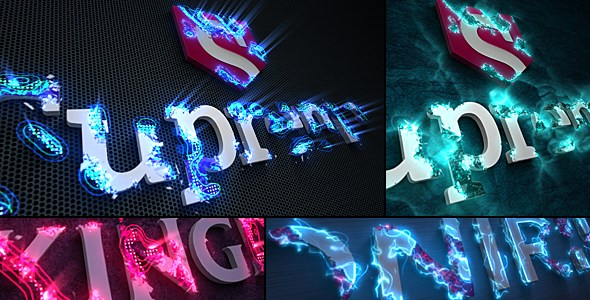 Sci-Fi Energy - Logo Reveal Pack Template AE