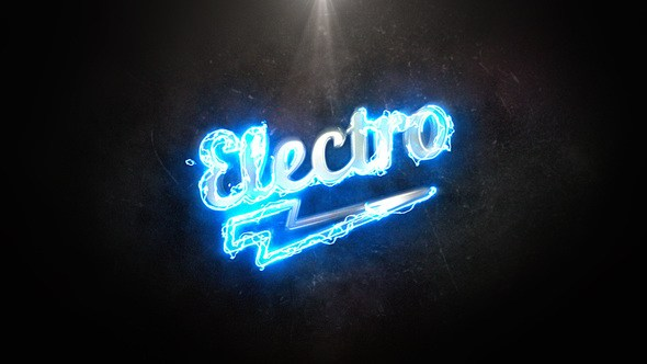 After Effects Project Files Electro Light Logo