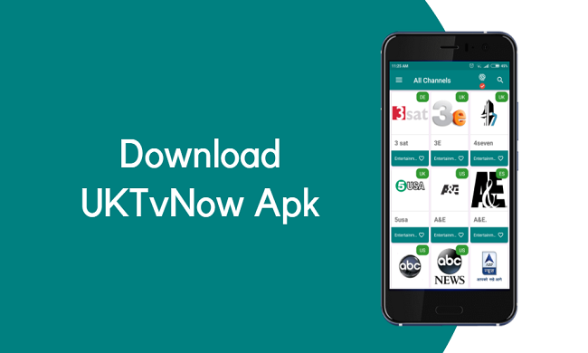 ứng dụng UKTV PRO cho android