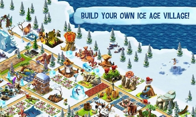 Game Ice Age Village Mod money cho android