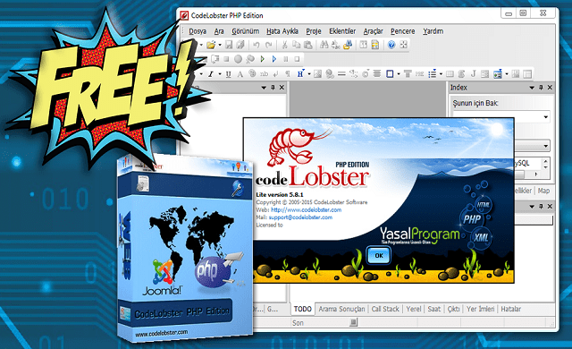 Phần mềm CodeLobster PHP Edition Pro