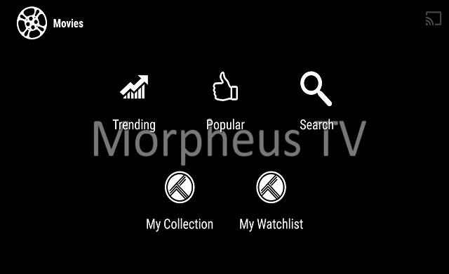 ứng dụng Morpheus TV apk