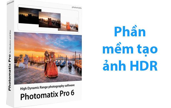 Phần mềm HDRsoft Photomatix Pro
