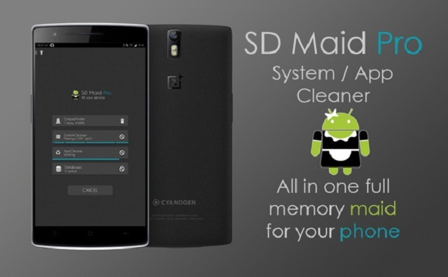 ứng dụng SD Maid Pro - System Cleaning Tool apk