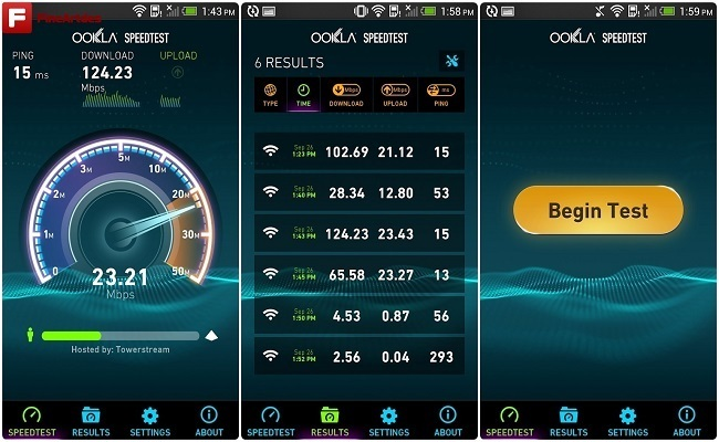 ứng dụng Speedtest.net Premium android