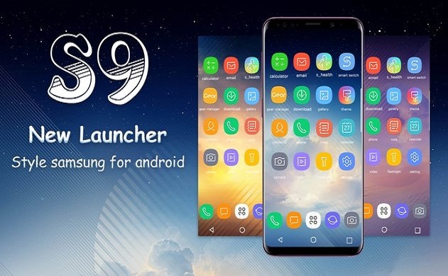 SS S9 Launcher for Galaxy S8/S9 launcher