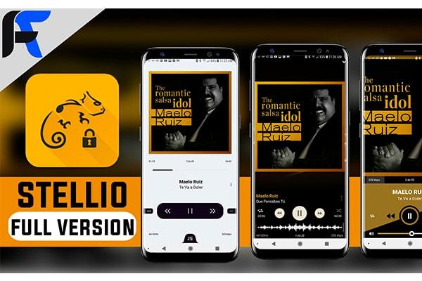 Ứng dụng Stellio Music Player Premium