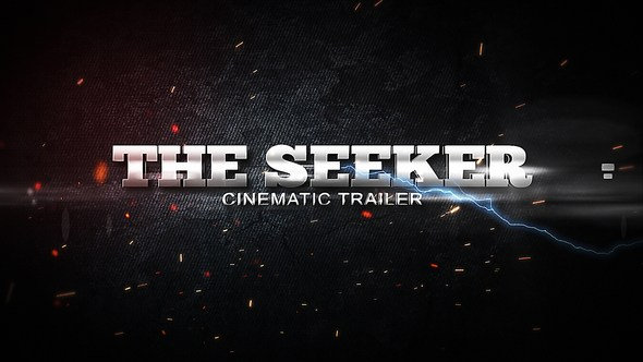 The Seeker - Cinematic Trailer After Effects Project