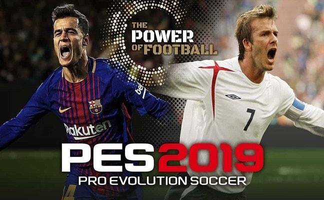 Tải xuống trò chơi PES 2019 cho PC