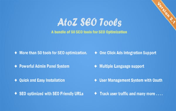 AtoZ SEO Tools php script