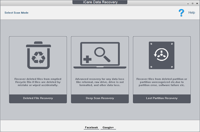 Phần mềm iCare Data Recovery Pro
