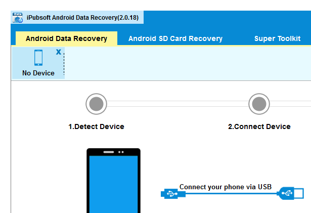 iPubsoft Android Data Recovery