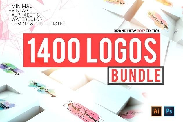 Gói 1400 Logos Mega Bundle