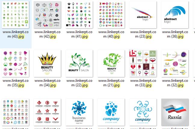 bộ sưu tập 50 Logo và Vector Logo đa dạng