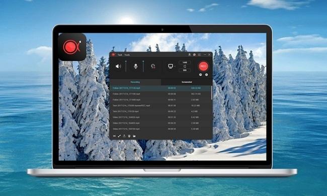 Phần mềm ghi màn hình ApowerREC