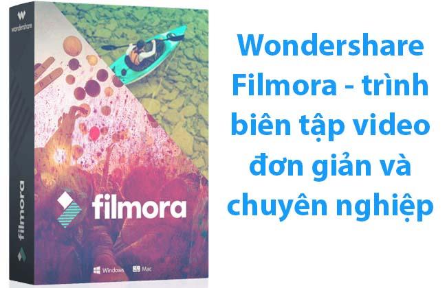 Phần mềm Wondershare Filmora