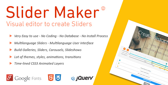 jQuery Slider Maker - Tạo jQuery Slideshows, Galleries, Carousels