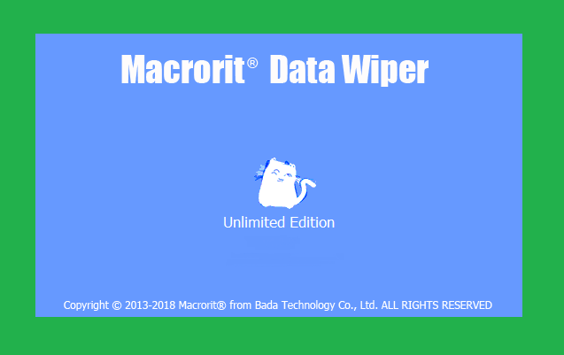 Phần mềm Macrorit Data Wiper