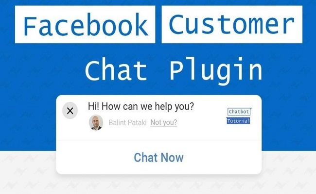 Thêm Plugins chat message facebook vào website