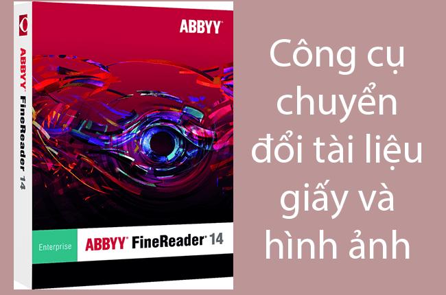 phần mềm abbyy finereader full