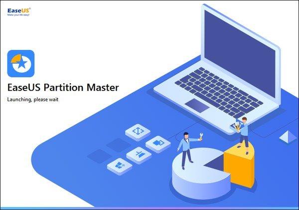 Phân vùng đĩa cứng EaseUS Partition Master Technician Edition