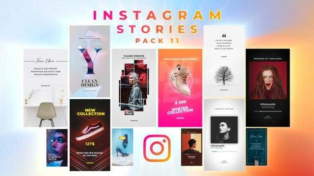 Instagram Stories Pack 11