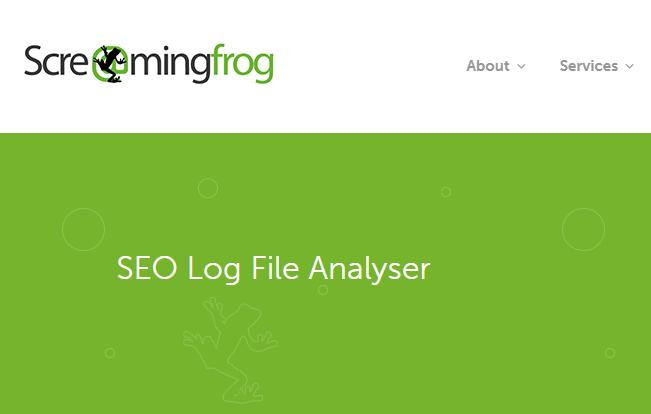 Công cụ Screaming Frog Log File Analyser