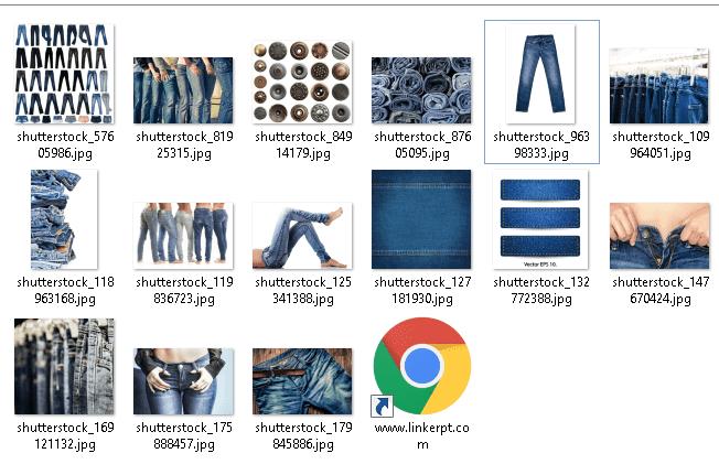 Tải xuống bộ hình ảnh textures quần jean từ Shutterstock
