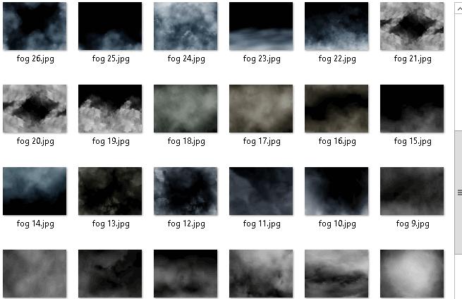 Tải xuống 40 Overlays nghệ thuật sương mù
