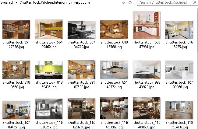 Bộ hình ảnh thiết kế nội thất nhà bếp chất lượng cao