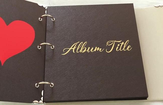Template Album ảnh tình yêu Valentine cho AE