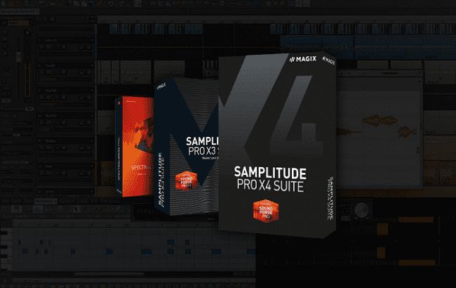 Phần mềm làm nhạc MAGIX Samplitude Pro X4 Suite