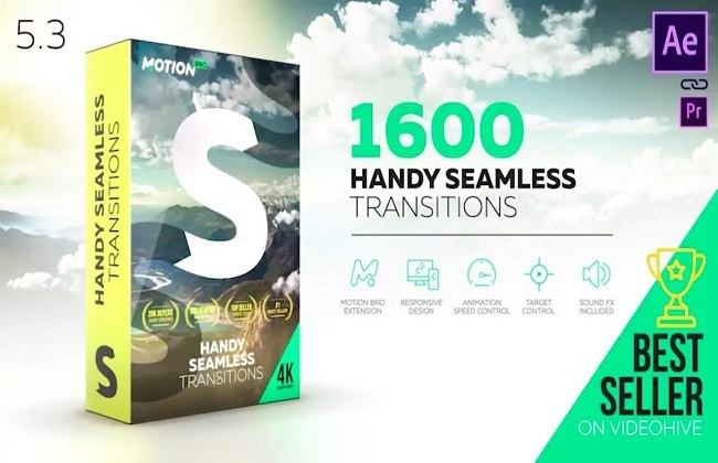 1600 video transitions - Videohive Transitions